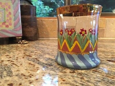 Mackenzie Childs Discontinued Tumbler NEW!!!
