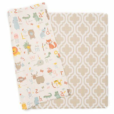 Baby Care Play Mat - Haute Collection (Moroccan Beige, Large)