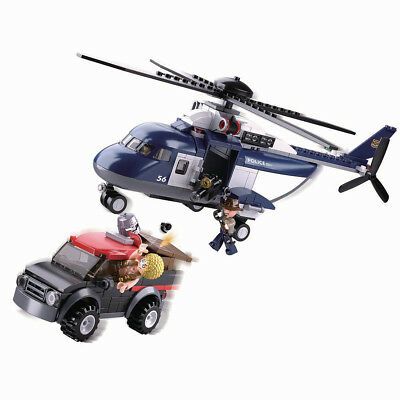 Chinook Helicopter CH-47 w// Jeep /& Figures Compatible Building Bricks 520Pcs