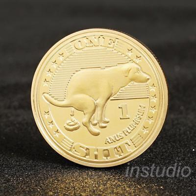 Animal Dog Coin To The Mooni Doge Coins Commemorative Coin Collection s