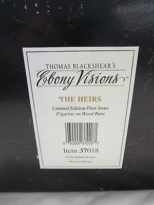 "Thomas Blackshear Ebony Visions ""The Heirs"" Limited Edition 1962/3500"