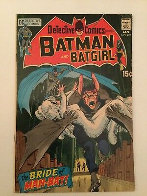 Detective Comics - Batman # 407 - Fine / Very Fine