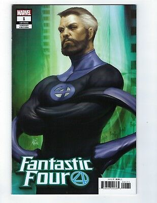 Fantastic Four # 1 Mr Fantastic Artgerm Variant Cover