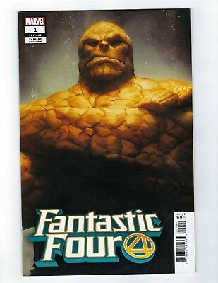 Fantastic Four # 1 Thing Artgerm Variant Cover