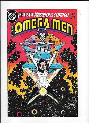 The Omega Men #3 ==> Nm- 1St Appearance Of Lobo Dc Comics 1983