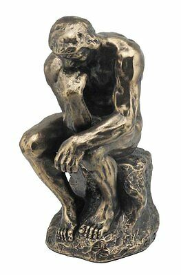 The Thinker Sculpture By Rodin Statue Figurine - Gift Boxed - FATHERS DAY GIFT