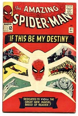 AMAZING SPIDER-MAN #31 MARVEL COMICS 1st Gwen Stacy SILVER-AGE