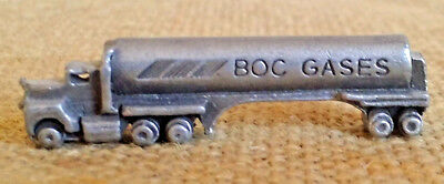 Vintage Mini BOC GASSES Promo Semi Truck Advertising Oil