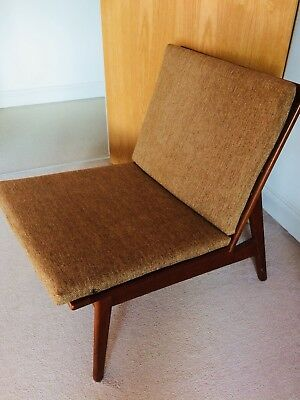 Rare Vintage Westnofa Danish Modern Lounge Chair