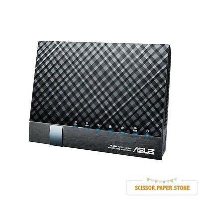 ASUS DSL-AC56U 802.11ac Dual-Band Wireless-AC1200 Gigabit ADSL/VDSL Modem Router