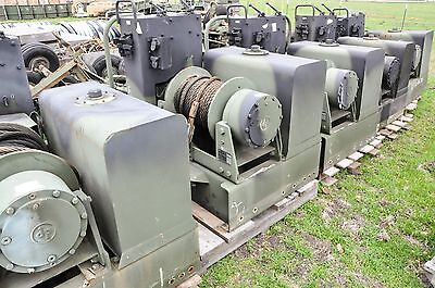 DP Military Winch Hyd.45,000 lbs With Tank and Operators Controls Hoist Rigging