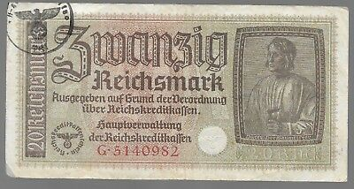 Rare Old WWII Germany Great War Vintage Note Dollar Collection Bill LOT:US-E52