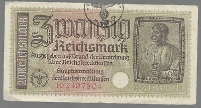 Rare Old WWII Germany Great War Vintage Note Dollar Collection Bill LOT:US-E56