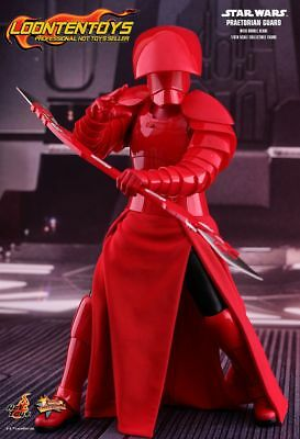 Hot Toys 1/6 MMS454 Star Wars:The Last Jedi Praetorian Guard (With Double Blade)