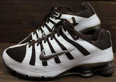 cd45f9683f7 2006 NIKE SHOX Turbo NZ Mens Cream Brown Shoes Sneakers Size 11.5 ...