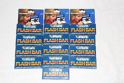 Sylvania Flash Bars - 13 Bars Of 10 Flashes In Each Bar Total Of 130 Flashes