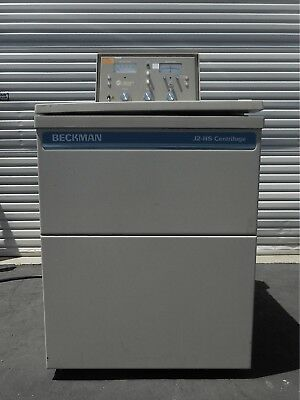 BECKMAN COULTER J2-HS High Speed Refrigerated Centrifuge 500 to 24000 RPM