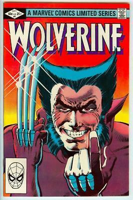 Wolverine Limited Series #1 Frank Miller Chris Claremont - Unread 9.4 Near Mint