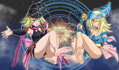 F2536 Free Mat Bag Yugioh Playmat Gagaga Girl Dark Magician Girl TCG Playmat