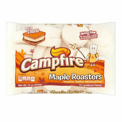 Campfire Maple Roaster Marshmallows 226G Flavoured Mallows Candy Camping Smores