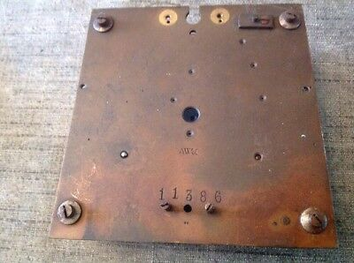 Antique Vienna Clock Movement Clockmakers Spare Parts 11cm Plates