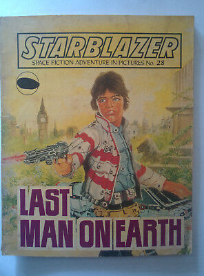 "Starblazer #28 ""LAST MAN ON EARTH"" published by DC Thomson dated 1980"