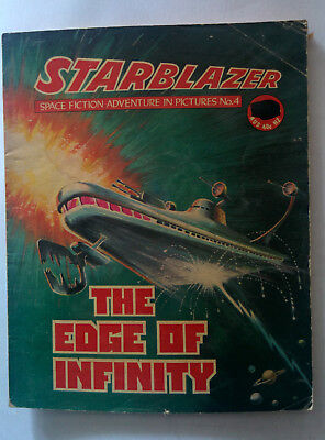 "Starblazer #4 ""THE EDGE OF INFINITY"" published by DC Thomson dated 1979"