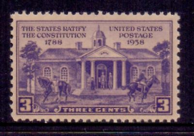 United States  1938  Constitution Ratification, MNH.