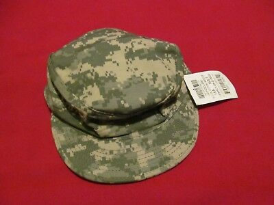 9848df90b49 NEW NWT US ARMY ACU PATROL CAP HAT Digital Camouflage Size 7 ...