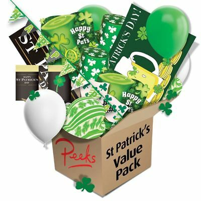 Peeks St Patricks Day Saint Paddys Irish Room Pub Bar Party Decorations Set Pack