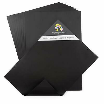 10 Plain A4 (0.5mm Thick) Magnetic Sheets for Crafts & Spellbinder Die Storage