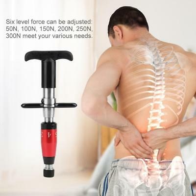 Chiropractic 50N-300N Adjusting Tool Activator Spine Instrument Massage Therapy