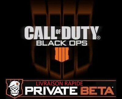 Call of Duty Black Ops 4/IIII Code Beta PC PS4 Xbox One