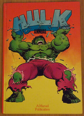 Marvel Hulk Annual - 1983, UK