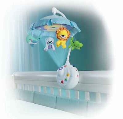 Smart Baby Response Musical Mobile Carousel Lullaby