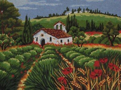 Country Scene Tapestry To Stitch