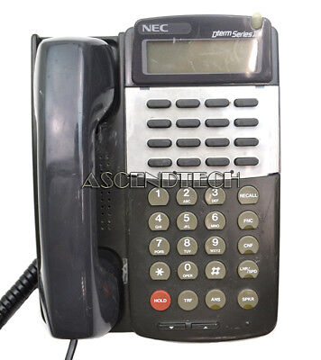 Nec Dterm Series 3 Black Phone 16-Button Office Display Phone Etj-16Dc-2 570511