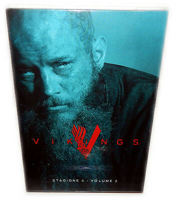 Vikings - Staffel/Season 4 - Volume 2 (4.2) [DVD] 3-Disc uncut, Deutsch(er) Ton