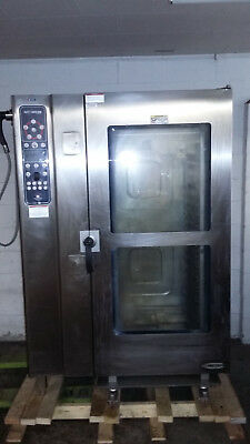 Alto Shaam 20.20 ESG Nat Gas Combitherm Combioven Roll In Pan Rack Oven Tested