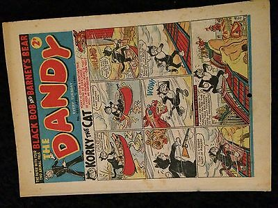 The DANDY Comic #491 (D.C.Thompson - Beano Magic) Old Scarce ..April 1951 issue!