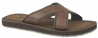 Mens Lightweight Slip On Crossover Mule Flip Flop Sandals Shoes Size 6-12