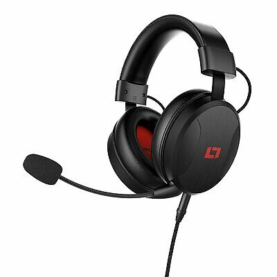 Lioncast LX50 Gaming Headset/Stereo Kopfhörer PC PS4 XBox One Nintendo Switch