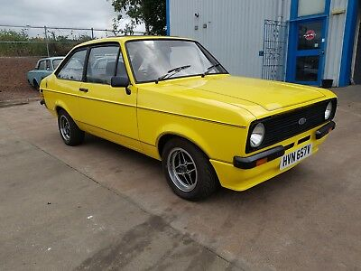 Escort 1600 Sport - UK registered - Will comes with Years MOT