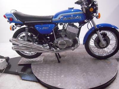 1972 Kawasaki H2 750 Mach IV Unregistered US Import Barn Find Classic To Restore