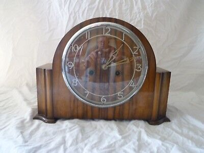 Smiths Enfield English Mantle Clock