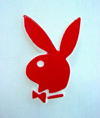 Vintage Hot Pink Playboy Bunny Plastic Pin - Casino Gambling Swag