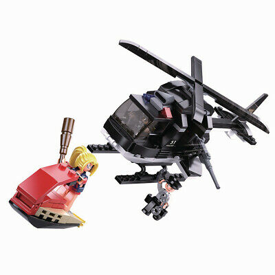Sluban Police SWAT ME Buggy Compatible Building Blocks Brick Mini figure toy kit