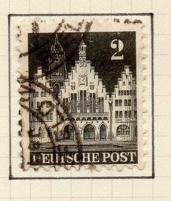 Germany Allied Occ British Zone 1948-50 Issue Fine Used 2pf. 258800
