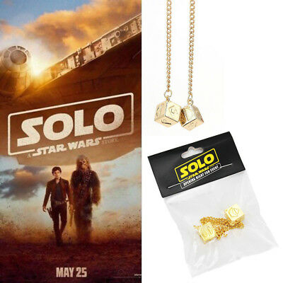 2018 Solo A Star Wars Story Han Solo Dice Sabacc Lucky Dice Millennium Falcon