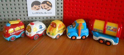 VTECH Baby TUT TUT BOLIDES LOT 4 VEHICULES INTERACTIFS (CAMION)  1-5 ans 2/3